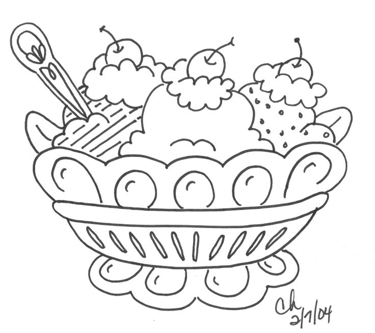 coloring pages of ice cream sundaes pictures of ice cream sunday free download on clipartmag pages coloring sundaes of ice cream