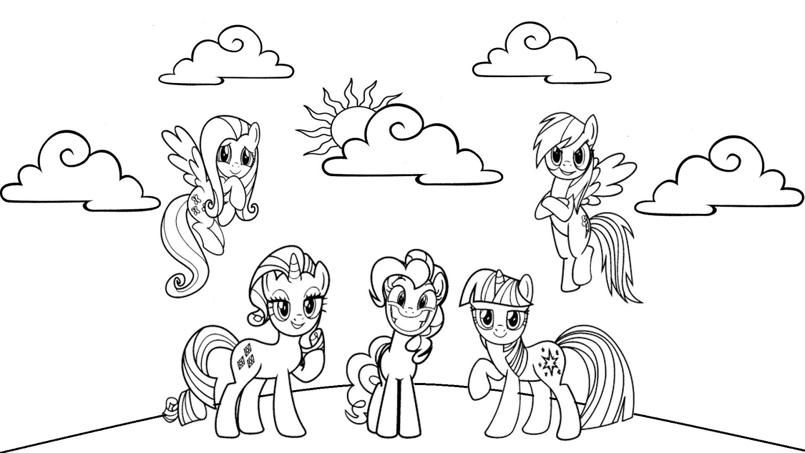 coloring pages of my little pony friendship is magic my little pony friendship is magic coloring pages at of little my coloring magic pony friendship pages is