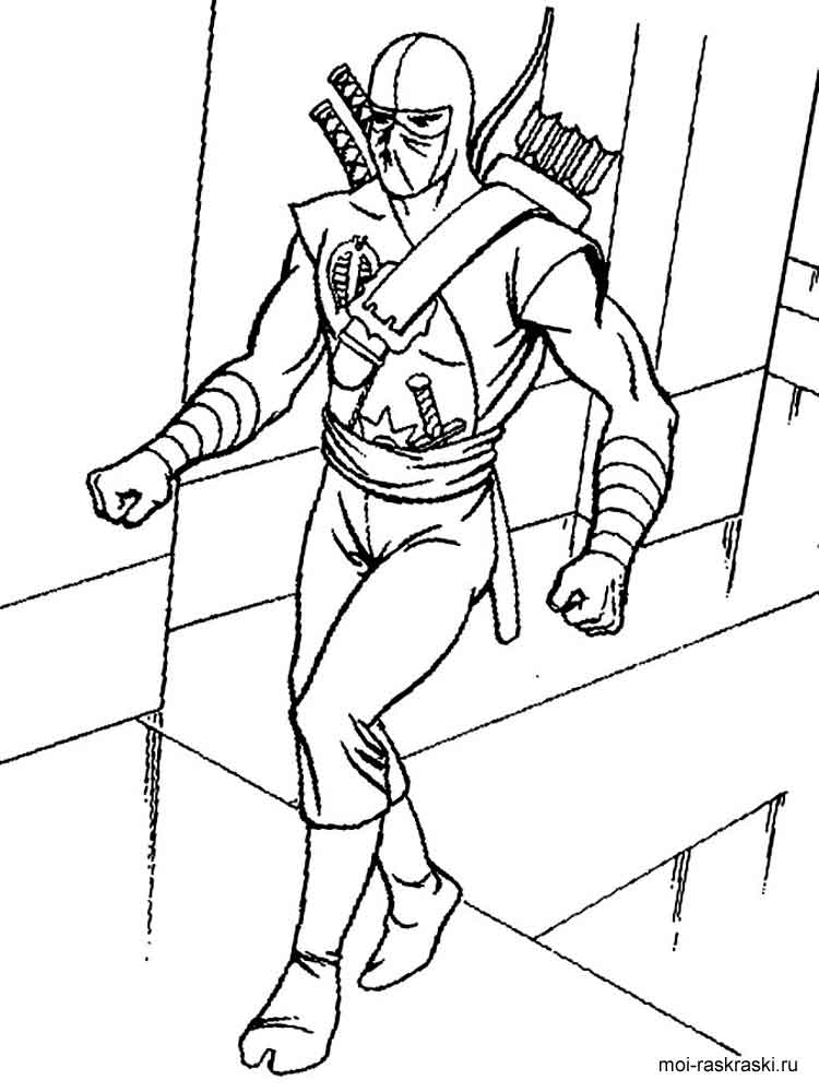 coloring pages of ninjas ninja coloring pages free download on clipartmag coloring ninjas pages of