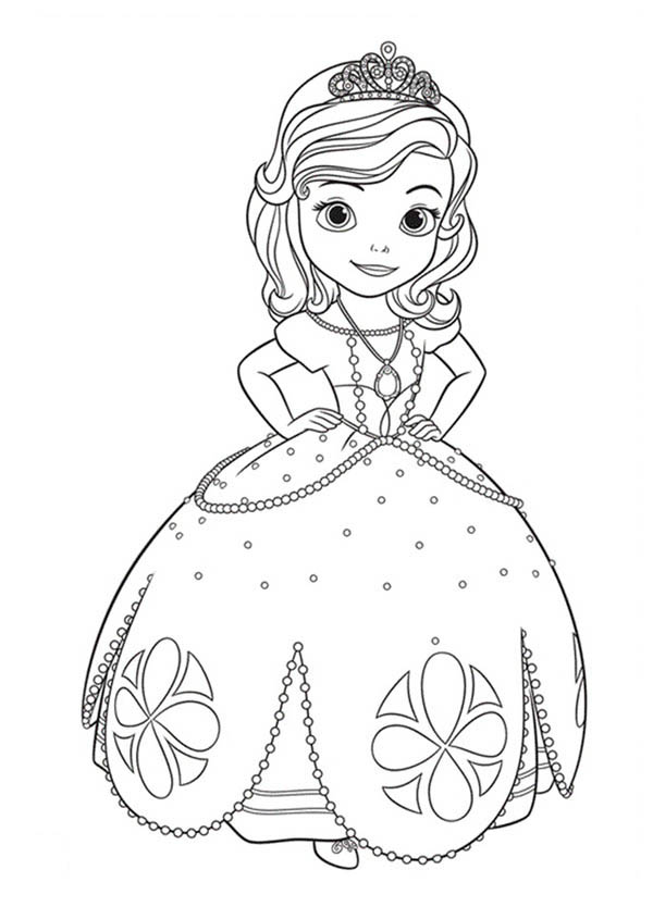 coloring pages of princess sofia 31 fantastic collection drawing coloring princess sofia princess sofia of coloring pages