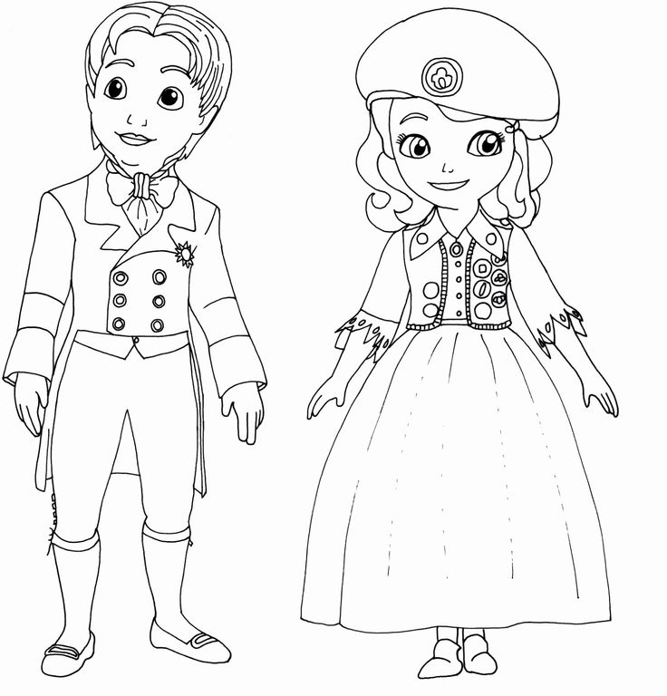 coloring pages of princess sofia awesome princess sofia the first coloring page netart pages of coloring princess sofia