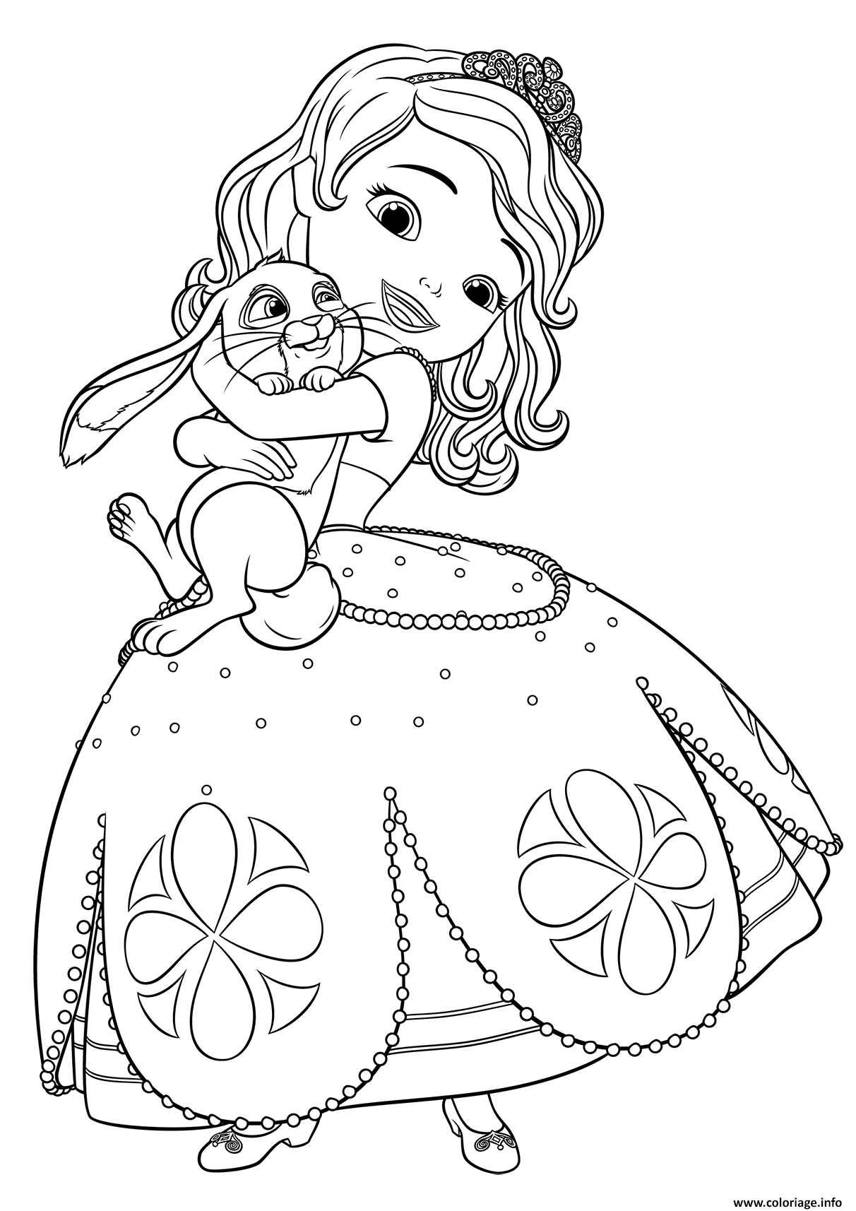 coloring pages of princess sofia get this online sofia the first coloring pages 44945 coloring pages princess sofia of