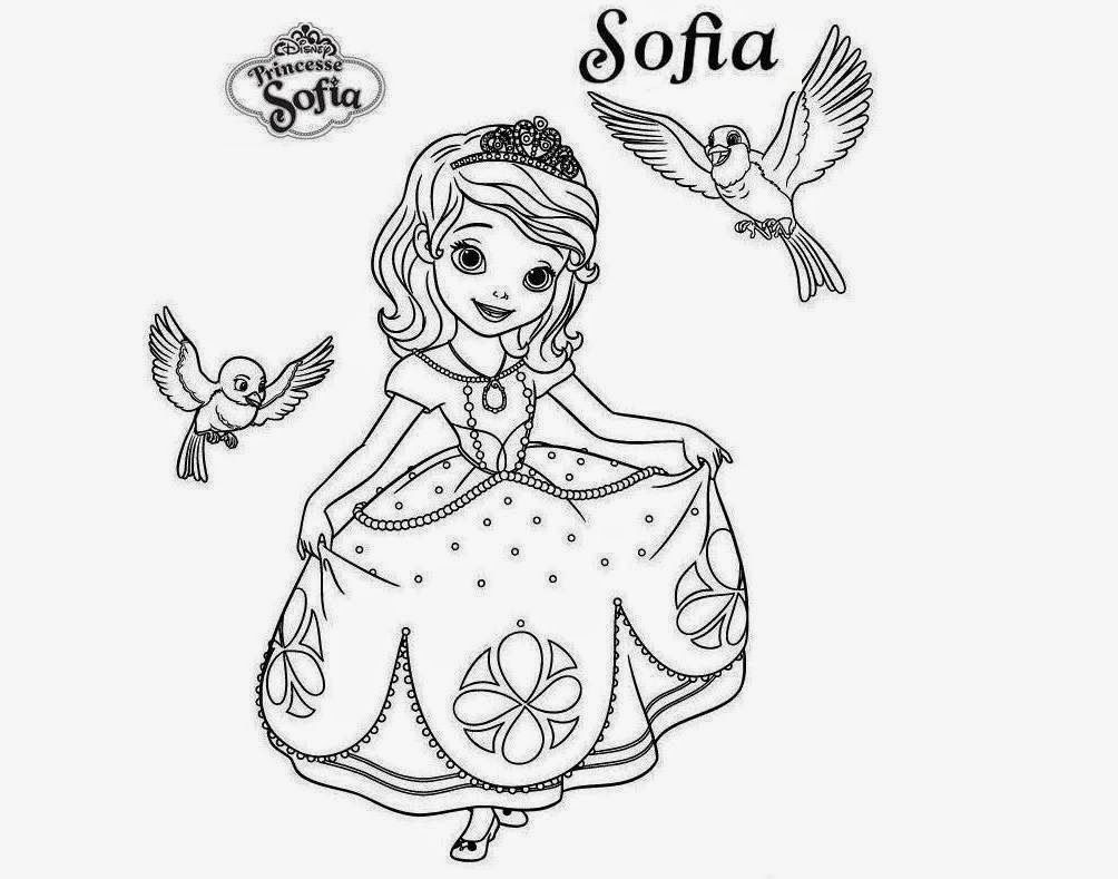 coloring pages of princess sofia princes sofia to color for children sofia the first kids princess pages coloring sofia of