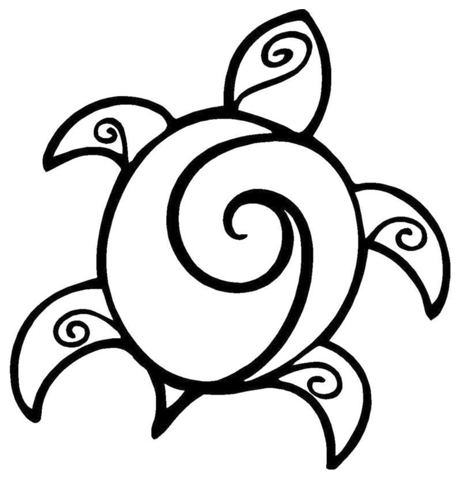 coloring pages of turtle turtle outline drawing at getdrawings free download coloring of turtle pages