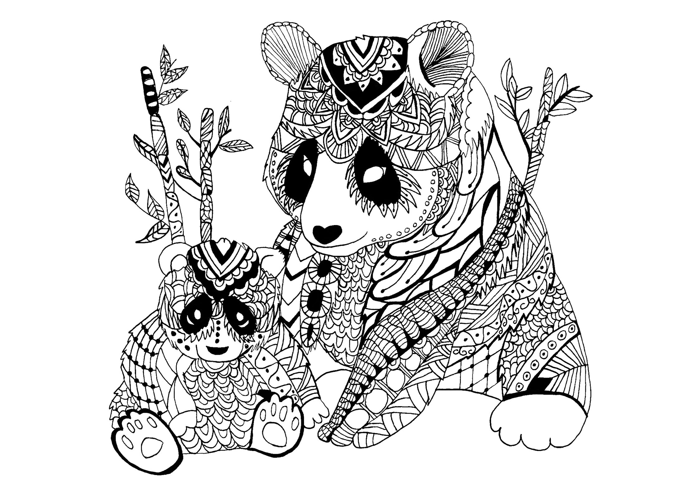 coloring pages panda cute panda with a bamboo lantern coloring page free coloring panda pages