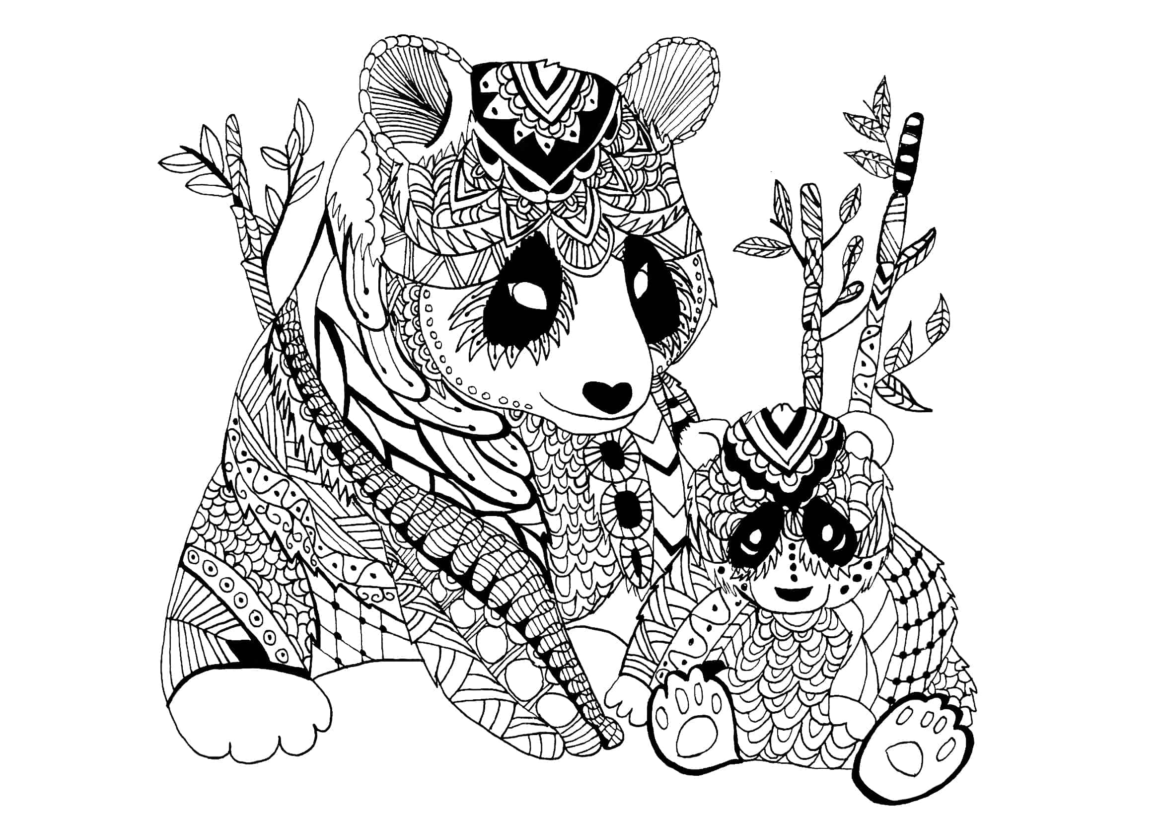 coloring pages panda pandas to download for free pandas kids coloring pages coloring panda pages