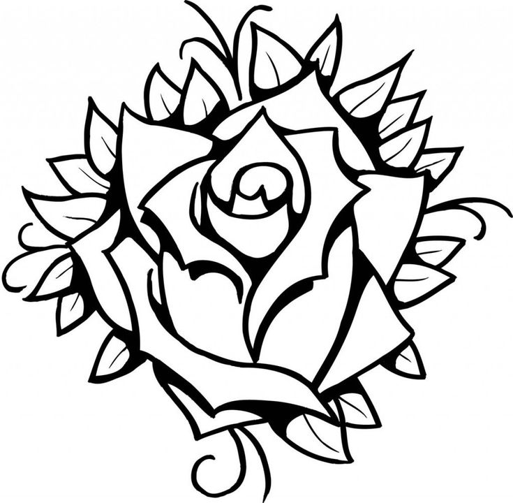 coloring pages rose coloring pages rose tattoo 2020 check more at https pages rose coloring