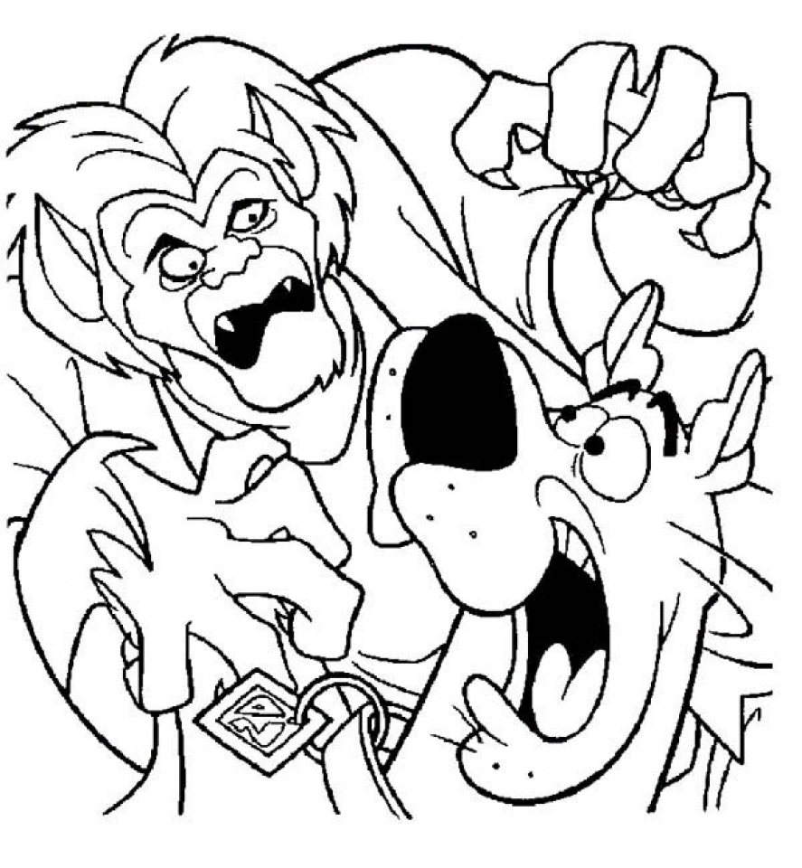 coloring pages scooby doo 30 free printable scooby doo coloring pages scooby pages coloring doo