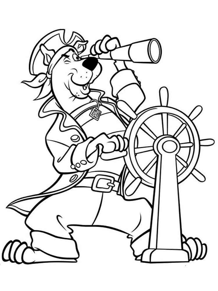 coloring pages scooby doo printable scooby doo coloring pages for kids cool2bkids doo scooby coloring pages
