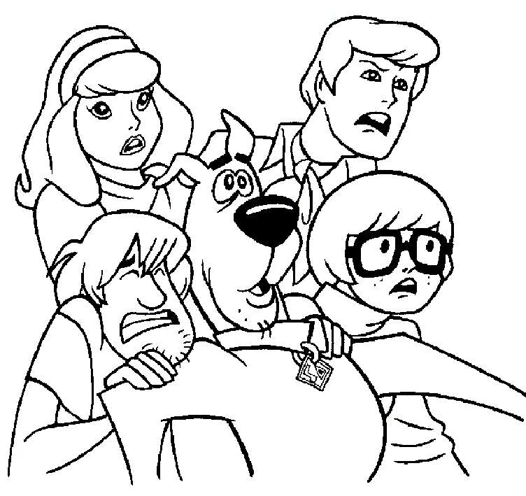 coloring pages scooby doo printable scooby doo coloring pages for kids cool2bkids pages scooby doo coloring