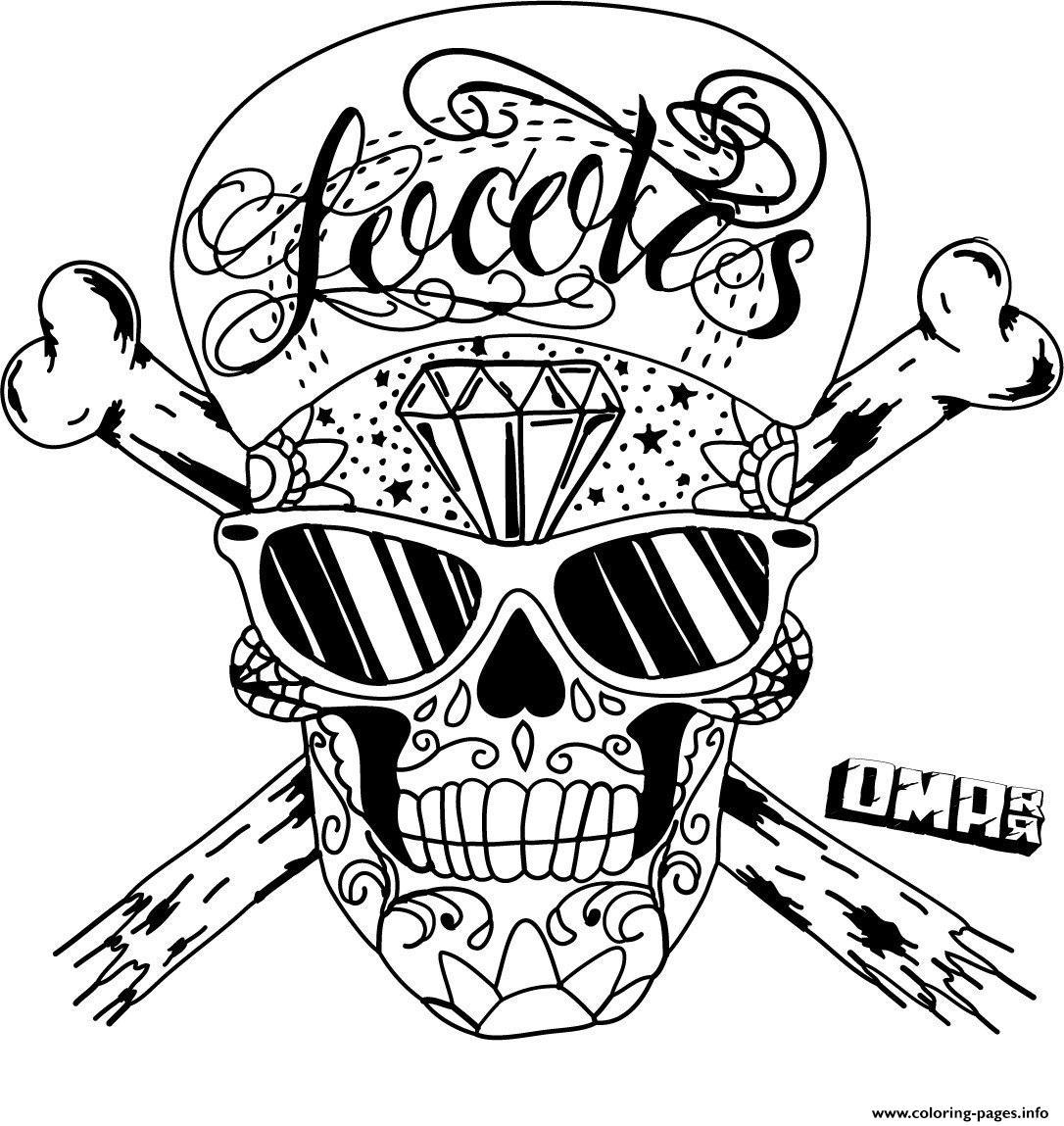 coloring pages skull mexican sugar skull coloring pages at getdrawings free coloring pages skull