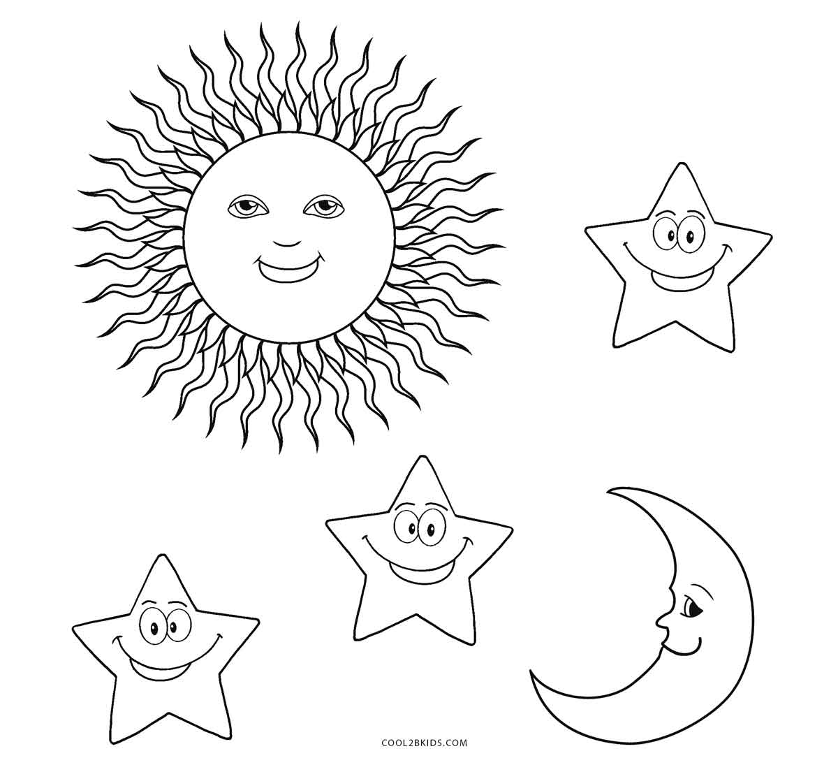 coloring pages sun and moon free printable sun coloring pages for kids cool2bkids moon and sun pages coloring