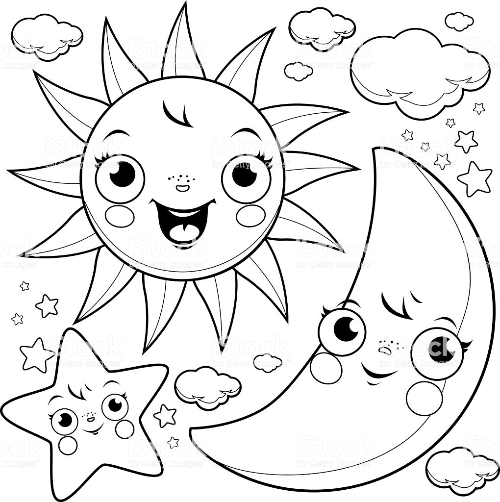 coloring pages sun and moon tumblr sun and moon coloring pages coloring sun pages moon and