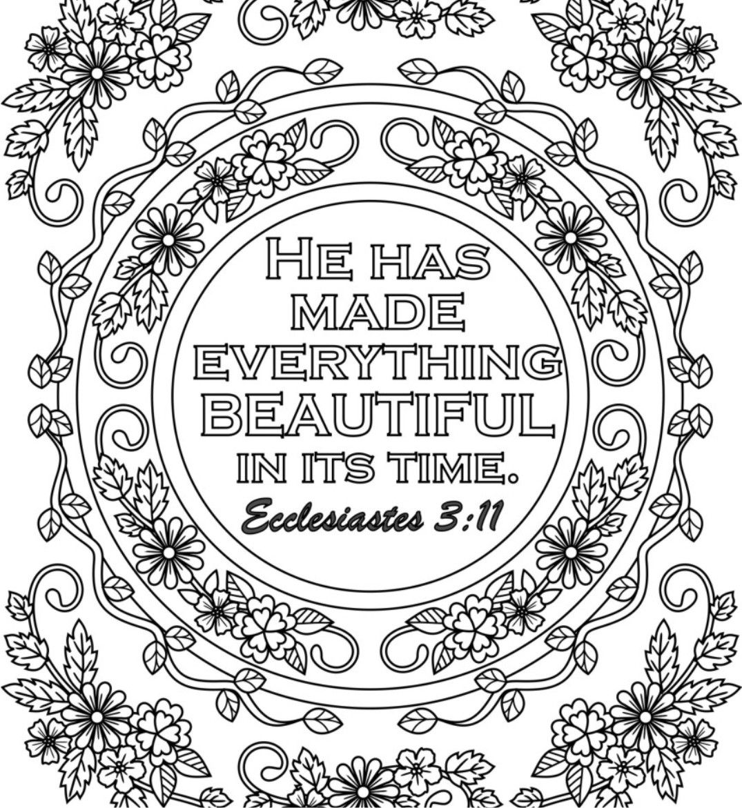 coloring pages with bible verses 5 bible verse coloring pages set 2 floral diy adult bible pages verses with coloring