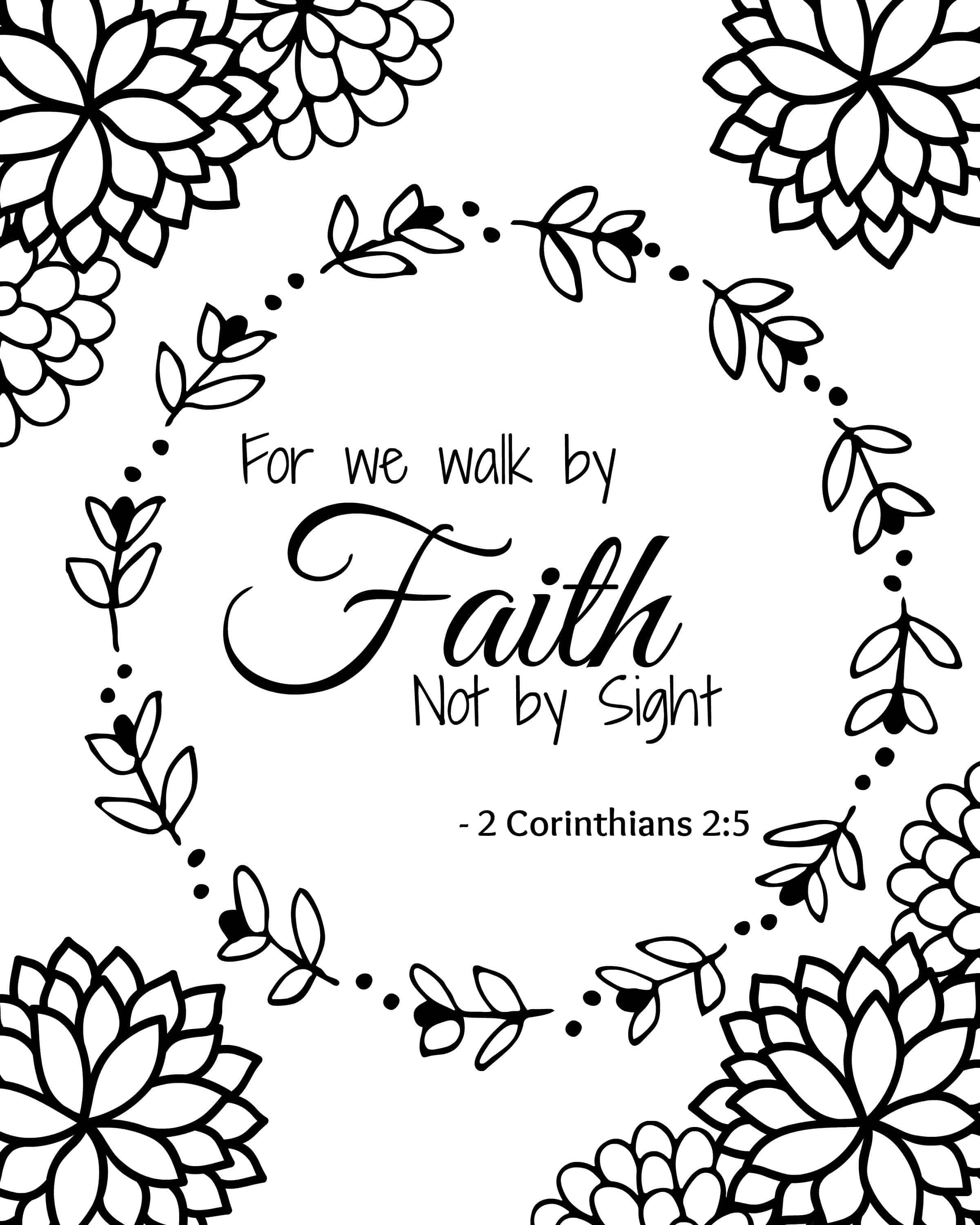 coloring pages with bible verses bible verse coloring pages set of 5 instant download verses pages coloring bible with