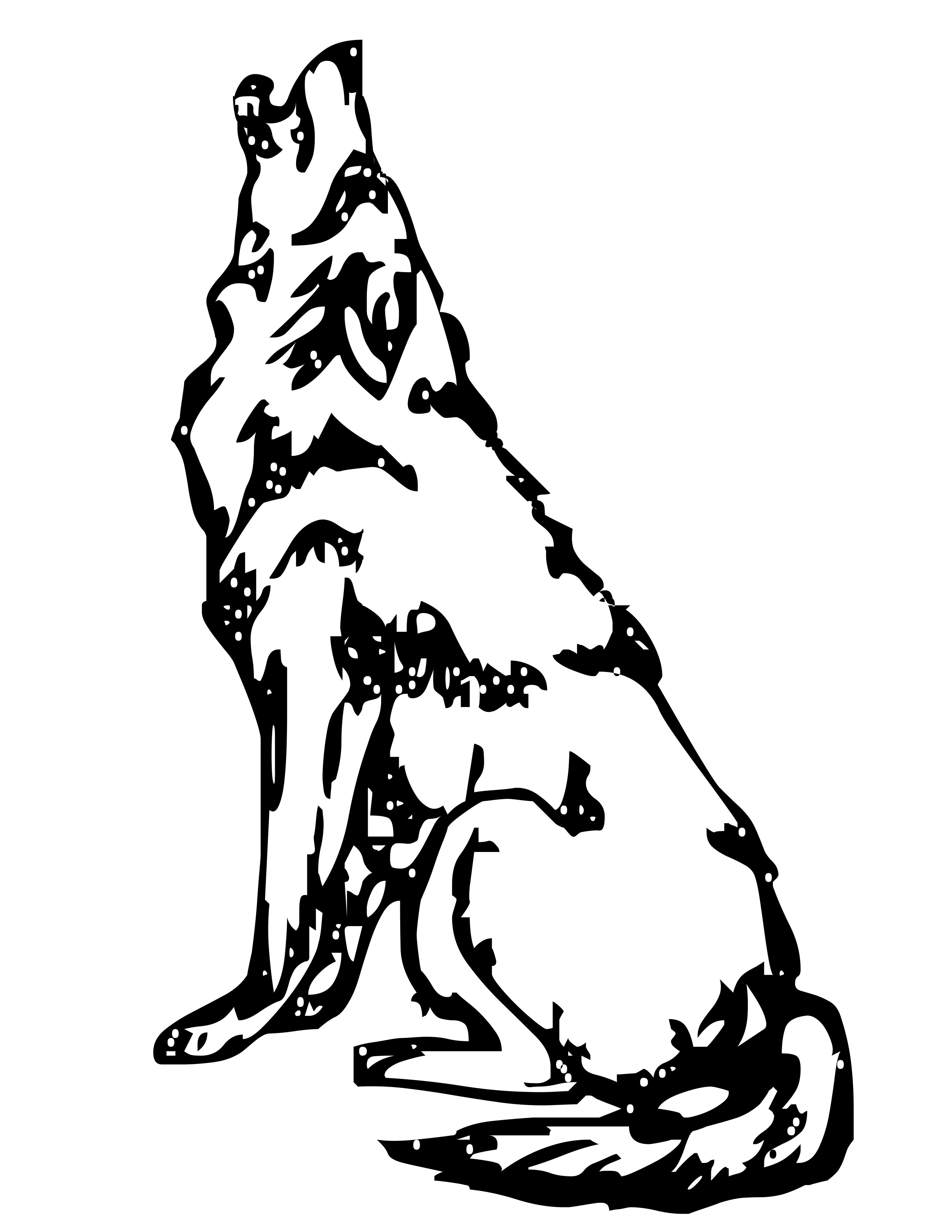 coloring pages wolves nice female wolf coloring pages farkas minták pages coloring wolves
