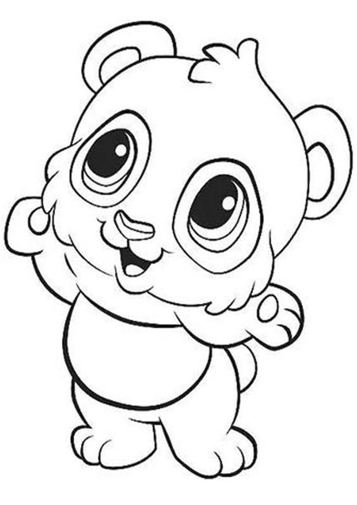 coloring panda picture free easy to print panda coloring pages tulamama panda picture coloring