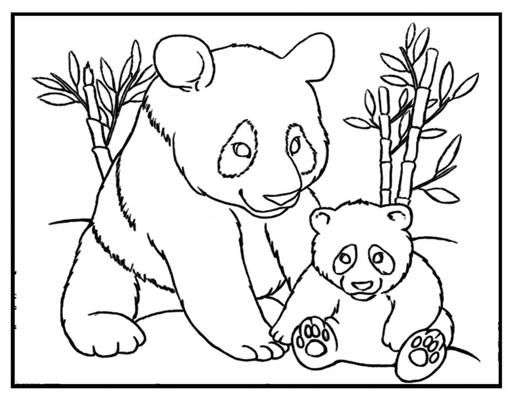 coloring panda picture panda bear coloring pages to download and print for free panda coloring picture