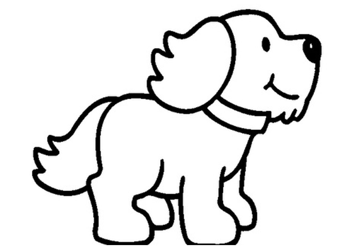 coloring pic of dog cute dog coloring pages to download and print for free dog coloring pic of