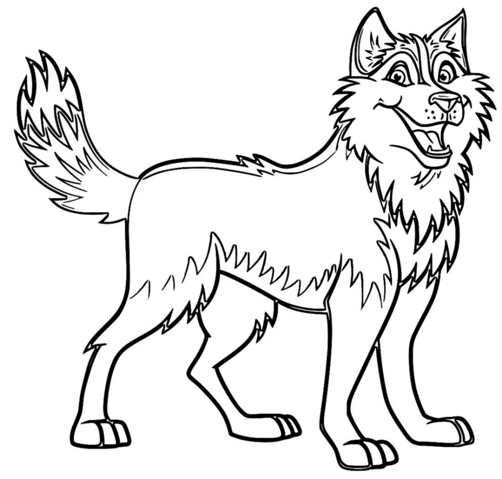 coloring pic of dog free printable dog coloring pages for kids of pic dog coloring