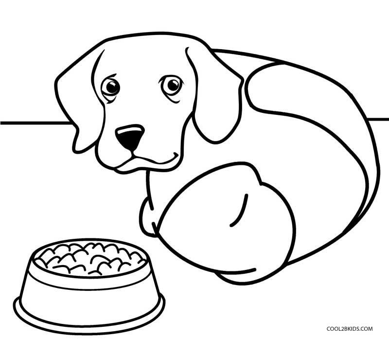 coloring pic of dog printable dog coloring pages for kids of dog coloring pic