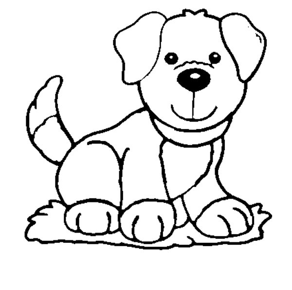 coloring pic of dog puppies coloring pages coloring dog of pic