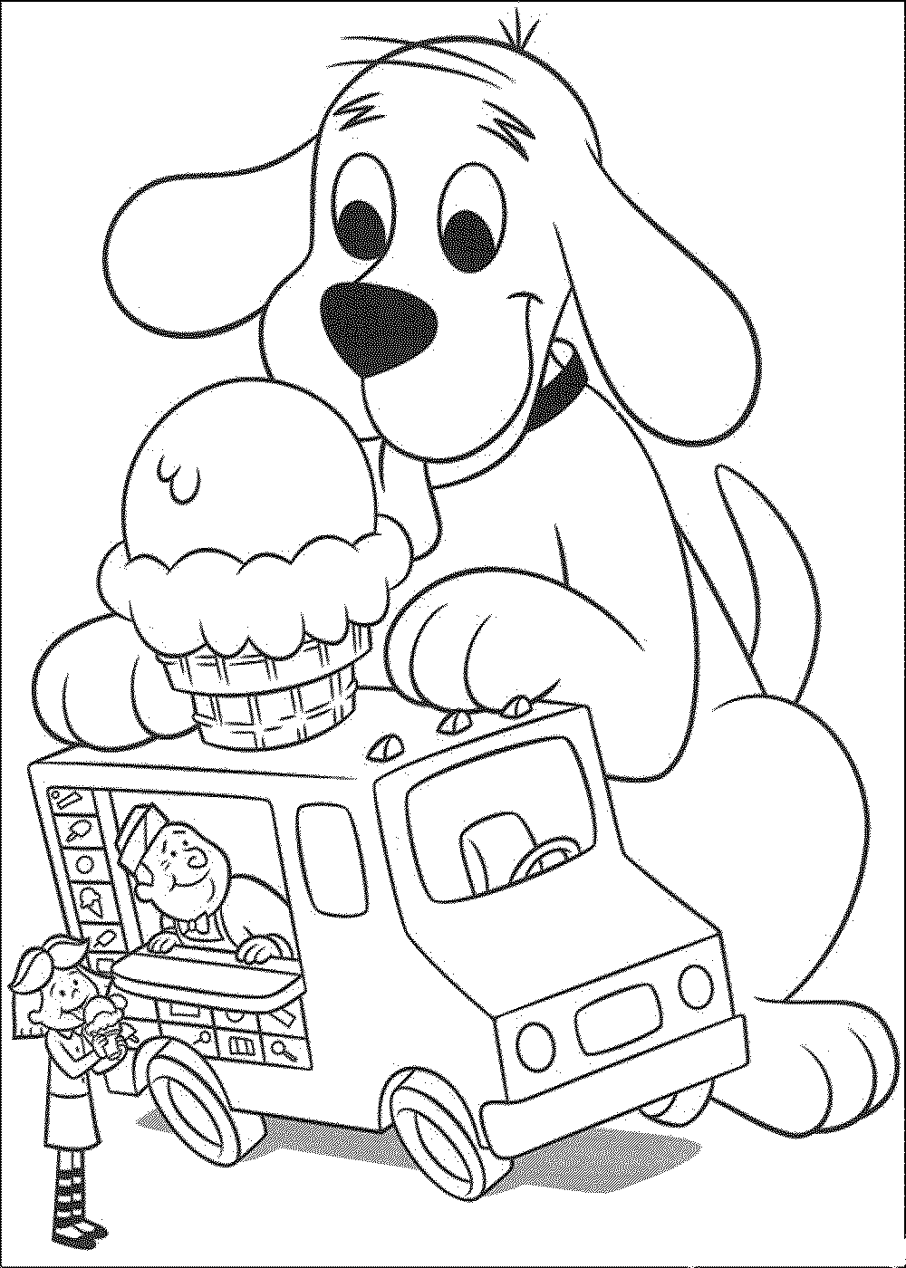 coloring picture dog dog coloring pages kidsuki dog coloring picture
