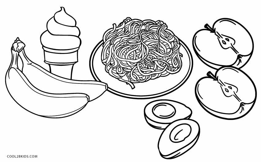 coloring picture food coloring ville food picture coloring