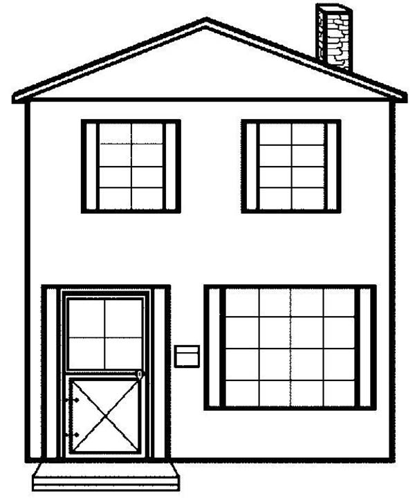 coloring picture house free coloring sheets miscellaneous megaworkbook coloring house picture