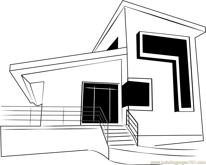 coloring picture house free printable house coloring pages for kids picture house coloring