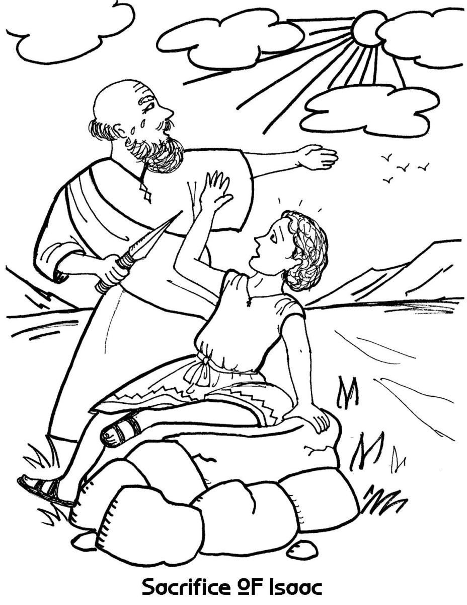 coloring picture of isaac and rebekah bible coloring pages isaac and sunday school coloring picture coloring isaac rebekah and of