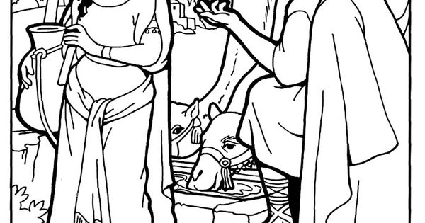 coloring picture of isaac and rebekah isaac and rebekah coloring pages best coloring pages for of rebekah and picture coloring isaac