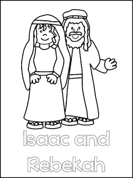 coloring picture of isaac and rebekah kid crafts on pinterest nativity bible coloring pages of coloring rebekah picture isaac and