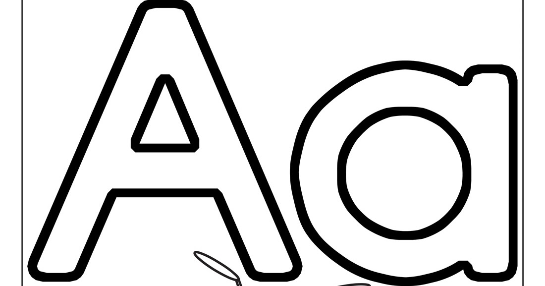 coloring picture of letter a coloring pages letter a coloring home picture of coloring letter a