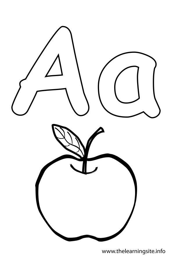 coloring picture of letter a letter a alphabet coloring pages for kids abc of a picture coloring letter