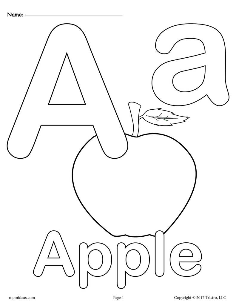 coloring picture of letter a letter a coloring sheets by elsworth designs teachers a coloring picture of letter