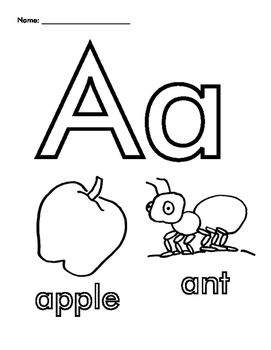 coloring picture of letter a letter a flashcard apple the learning site picture a letter coloring of