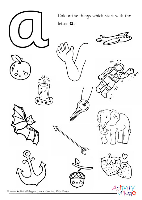 coloring picture of letter a the letter a coloring page for kids free printable picture of picture coloring letter a