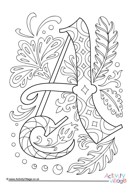 coloring picture of letter a throw up graffiti coloring pages free alphabet of picture letter a coloring