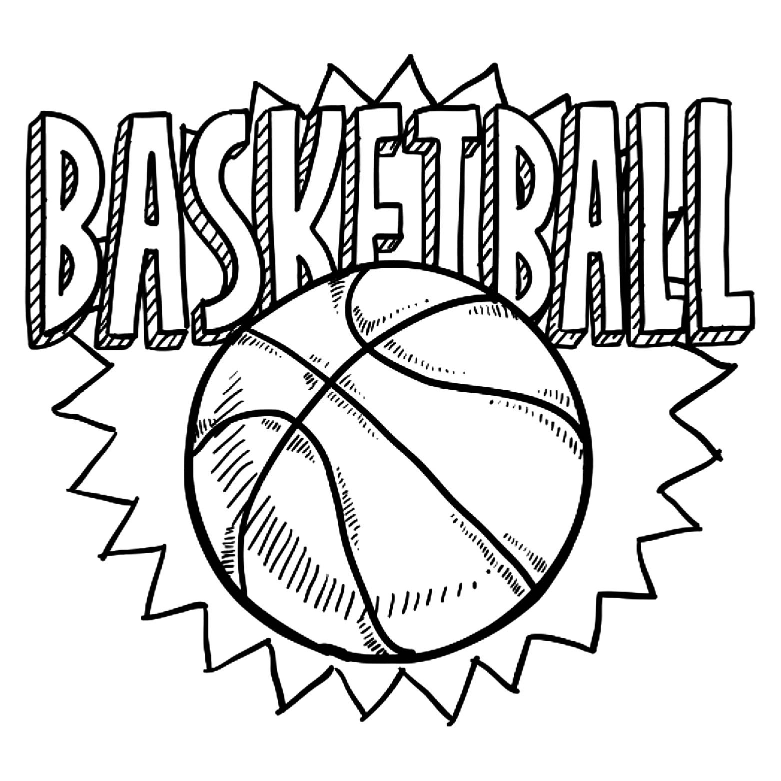 coloring pictures basketball basketball to download for free basketball kids coloring basketball coloring pictures