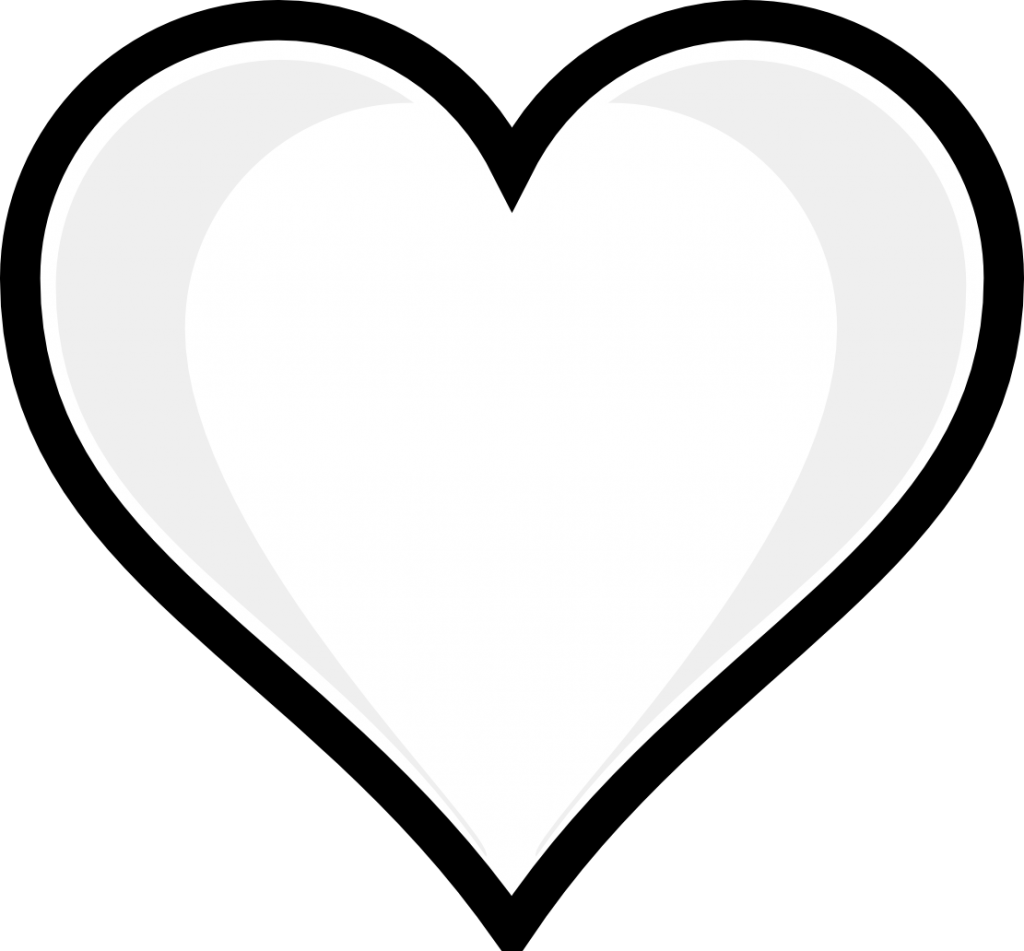 coloring pictures of hearts printable heart coloring pages at getdrawings free download coloring of hearts pictures