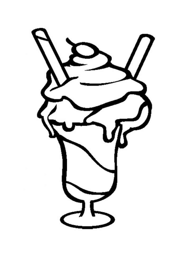coloring pictures of icecream coloring pages icrem coloring home pictures of coloring icecream