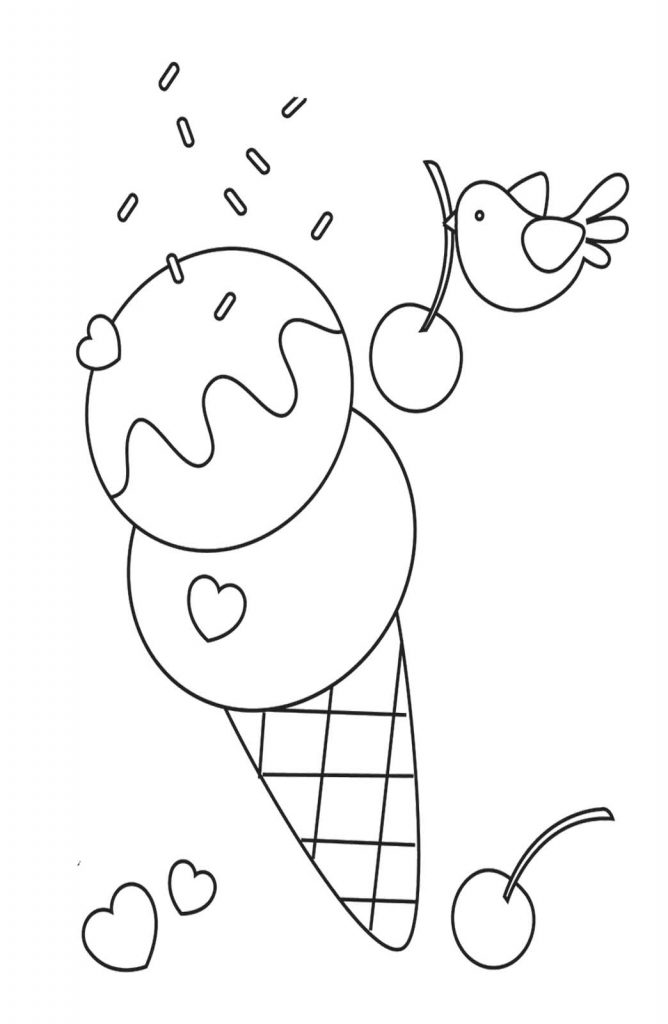 coloring pictures of icecream coloring pictures of icecream of coloring pictures icecream