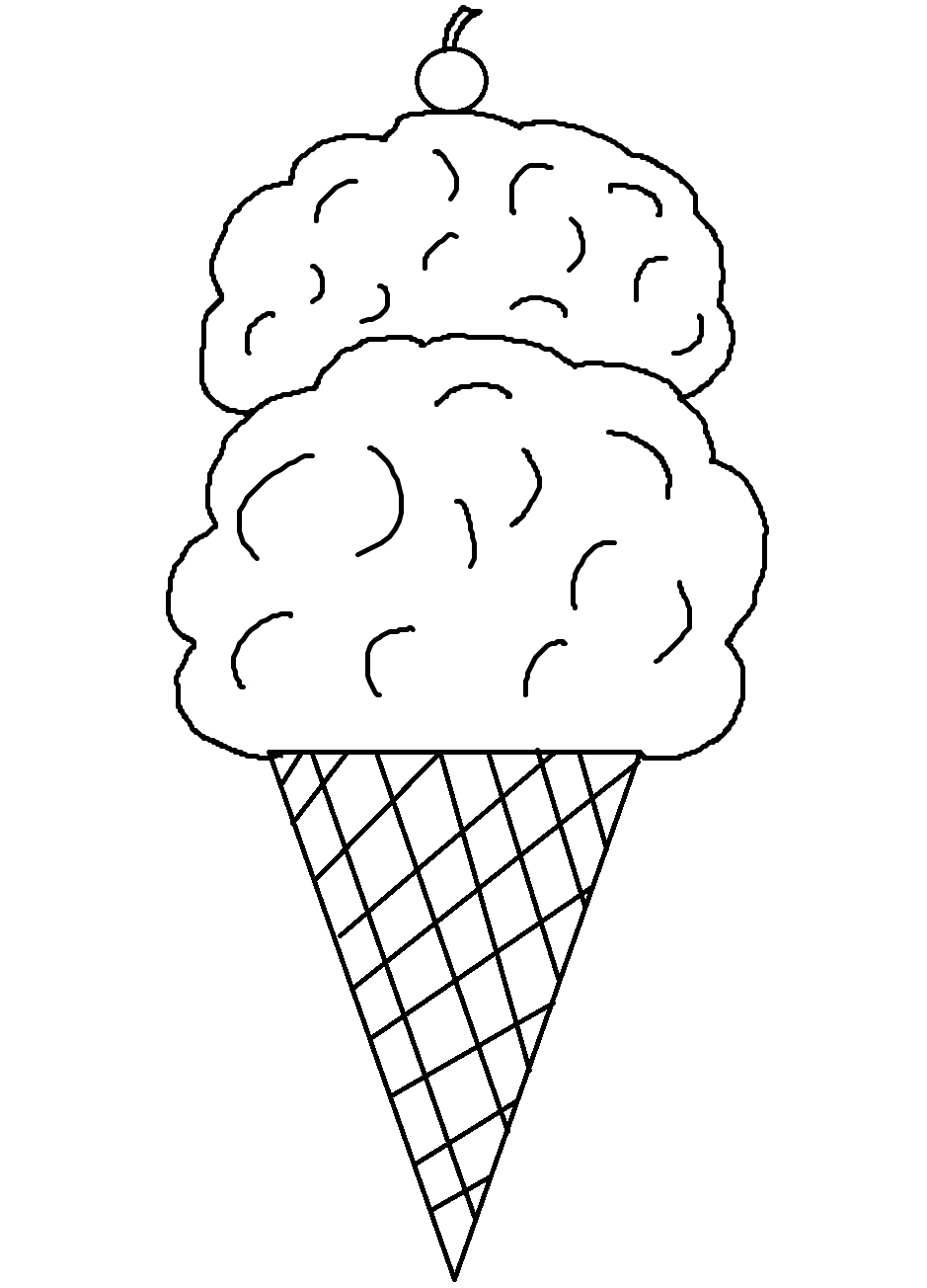 coloring pictures of icecream ice cream truck coloring pages clipart panda free pictures of coloring icecream