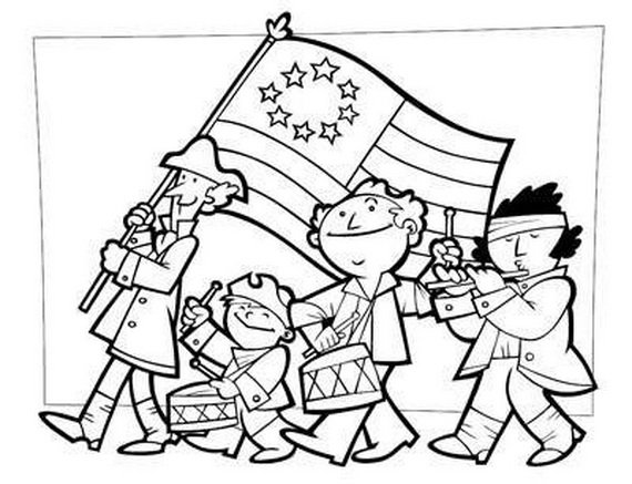 coloring pictures of independence day independence day coloring pages for kids day pictures independence coloring of