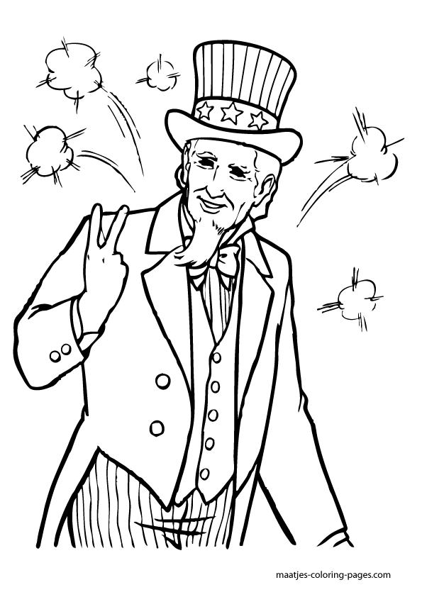 coloring pictures of independence day independence day coloring pages to download and print for free day of coloring independence pictures