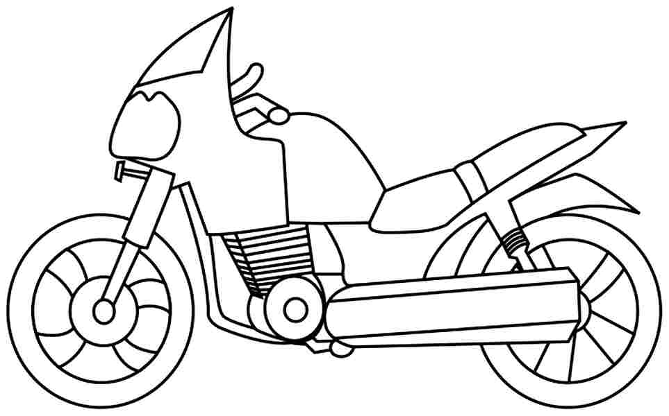coloring pictures of motorcycles free printable motorcycle coloring pages for kids coloring pictures of motorcycles