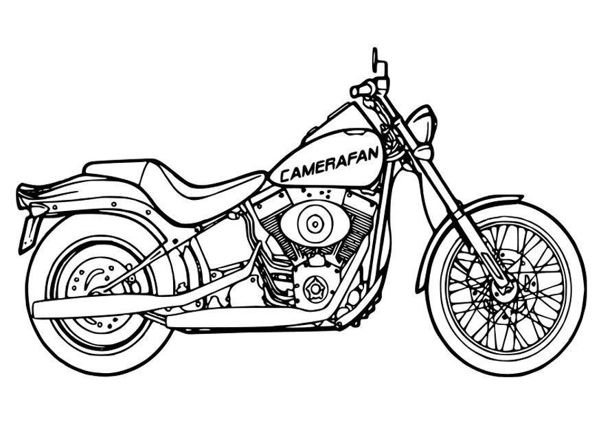 coloring pictures of motorcycles motorcycle harley davidson printable coloring page coloring of motorcycles pictures