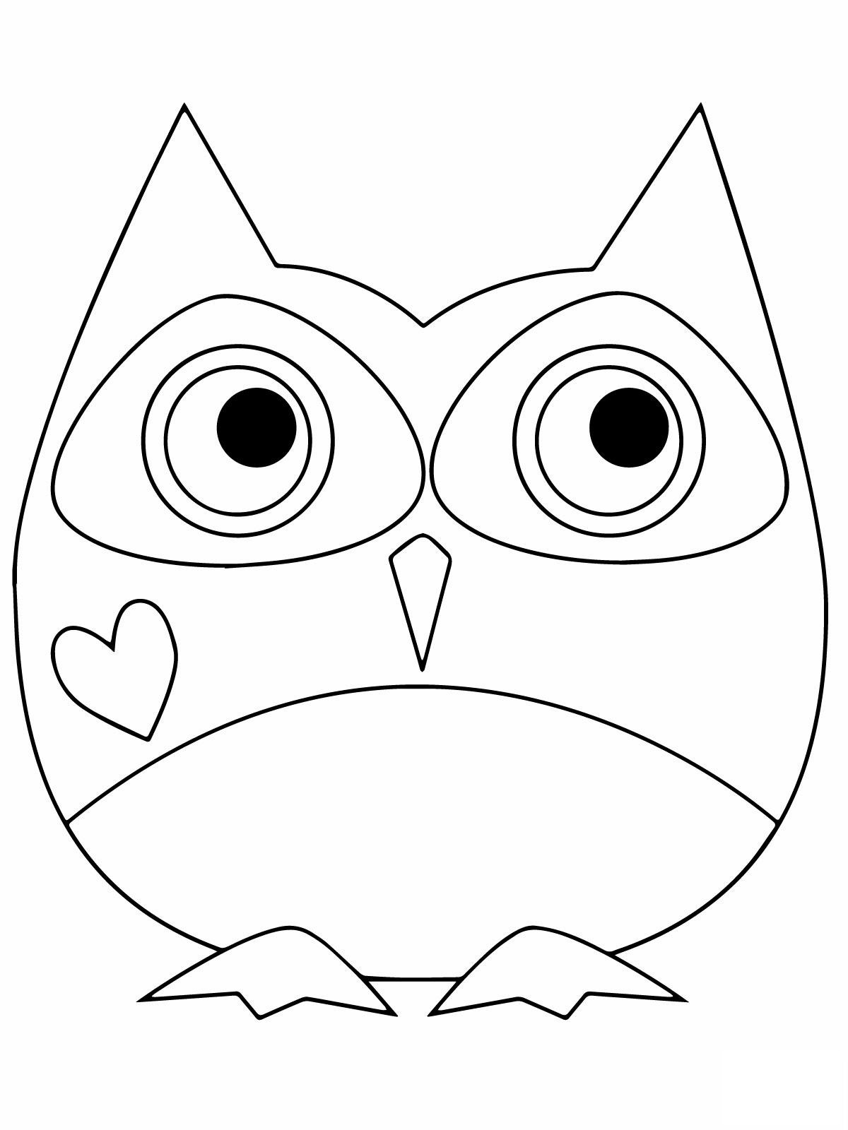 coloring pictures of owls cutest cartoon owl coloring page free printable coloring of coloring pictures owls