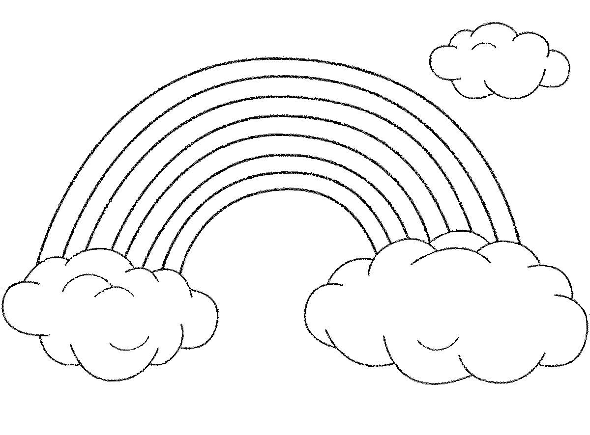 coloring pictures of rainbows free printable rainbow coloring pages for kids coloring of pictures rainbows 1 1